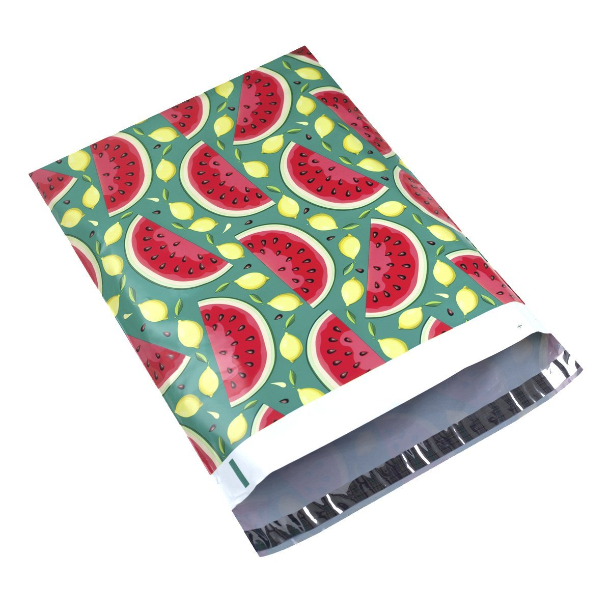 Poly Mailer Bags-100 Pack #5 12x15.5 inch 2.35MIL Watermelon Designer Shipping Envelope Mailers Boutique Custom Bags for UCGOU