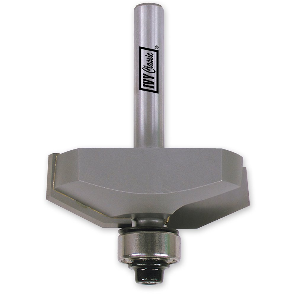 1//4-Inch Shank 1//Pouch IVY Classic 10810 1//2-Inch Straight Carbide Router Bit