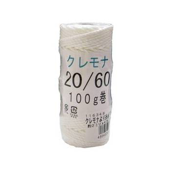 Kuremona, vinylon thread #20 about 2.0 mm x 45 M Japan market instruments