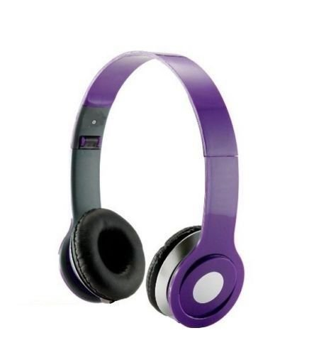Roberts Fojjers Special Foldable Over the Head Stereo Dj Headphone 3.5 Mm for Pc Tablet Music Video & All Other Music Players.. (Purple)