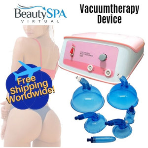 Lymphatic Drainage Vacuum Therapy Slimming Fat Removal Buttocks Lifting Machine - Vacuum Suction Cup Therapy Machine