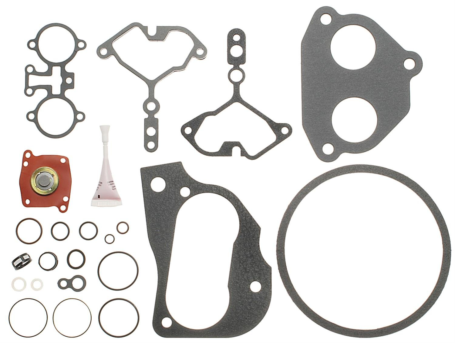 ACDelco 217-2893 Professional Fuel Injection Throttle Body Repair Kit with Gaskets and Seals