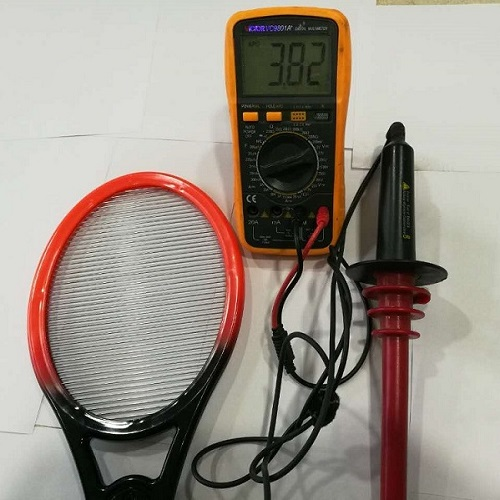 Larger Two Layer Electric Fly Racket Battery Operated Bug Zapper Wasp  Racket Electric Mosquito Killer Bat - Buy Electric Mosquito Killer Bat,Bug