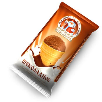 OT DEDA MOROZA CHOCOLATE WAFER CUP ICE-CREAM