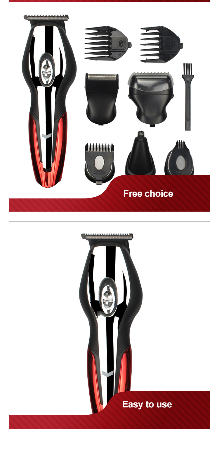 rechargeable mens grooming sets replacement blades hair clipper set gemei professional hair clipper