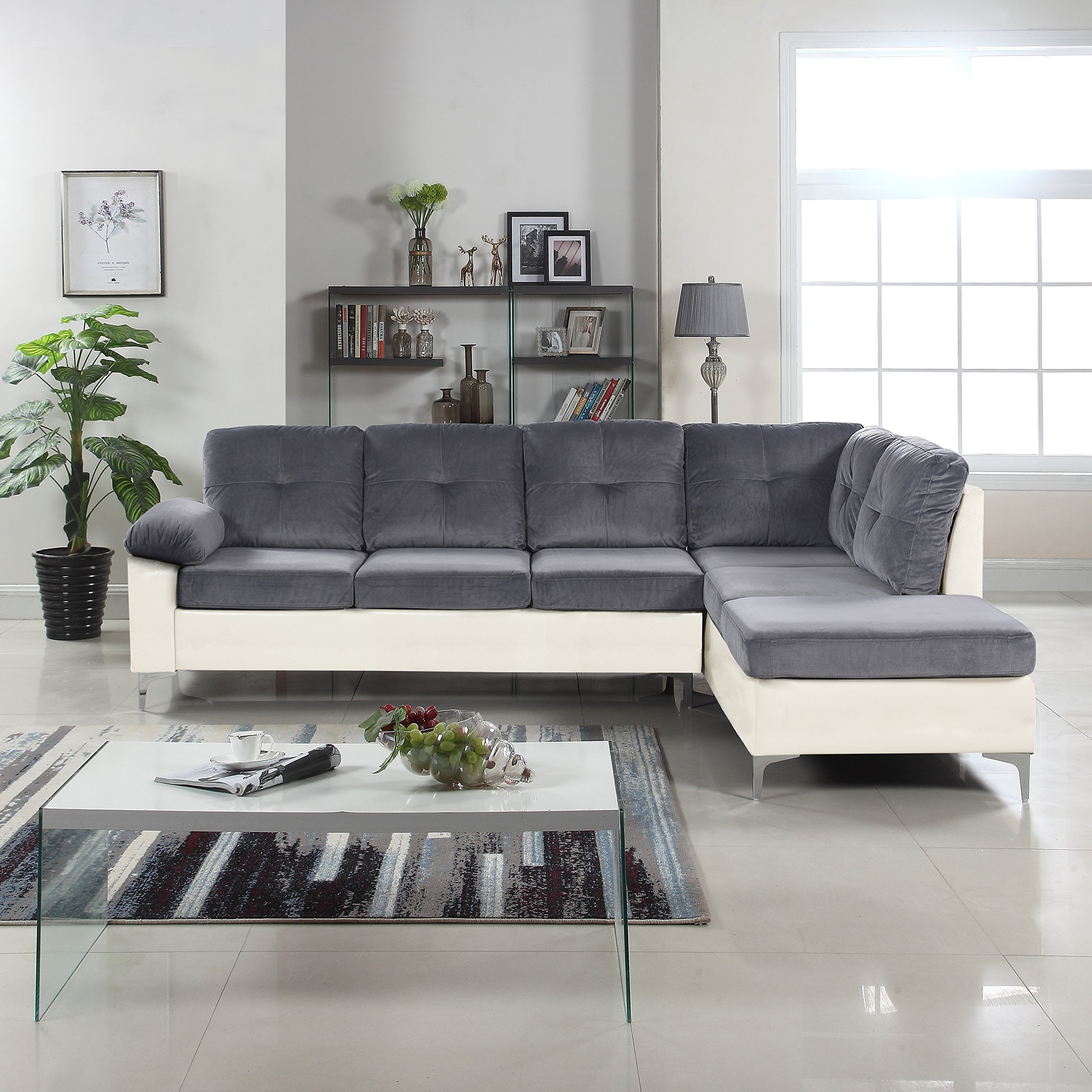 Terrific Cheap White Tufted Sectional Find White Tufted Sectional Gamerscity Chair Design For Home Gamerscityorg