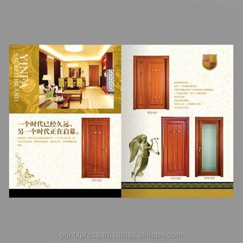Superbe Wooden Door Design Catalogue Printing
