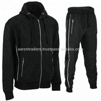 2018 new fashionable fleece tracksuit casual sweatsuit, custom fleece
