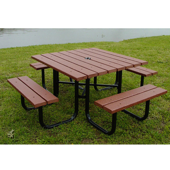 garden wooden beer restaurant tables and chairs
