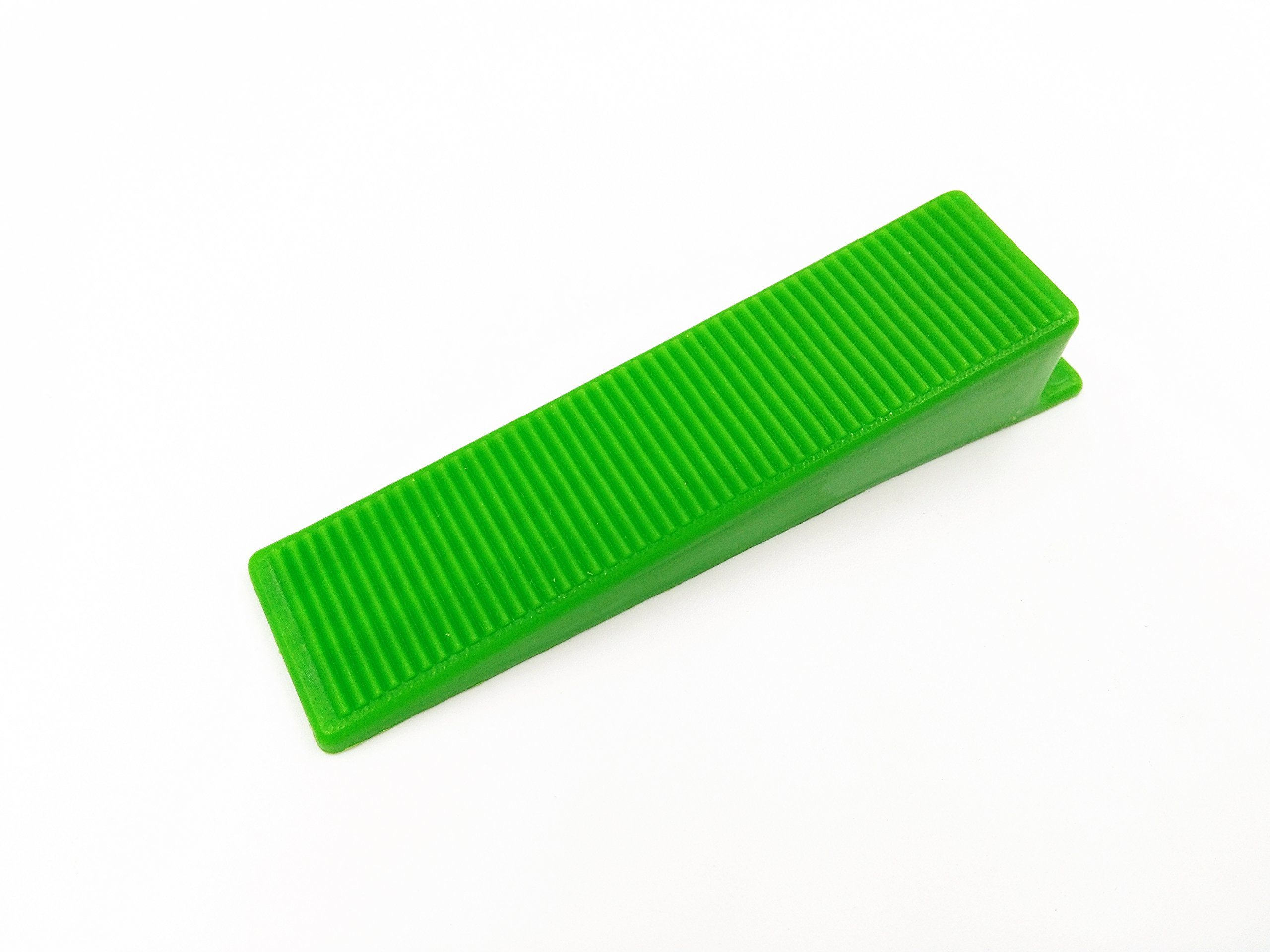 Tipu 100-Pcs Tile Leveling System Wedges, Wall / Floor Balance Wedge, Tile Laying Wedge, Green