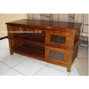 tv en teck table en teck bois meuble tv meuble tv contemporain teck minimaliste maison meubles. Black Bedroom Furniture Sets. Home Design Ideas