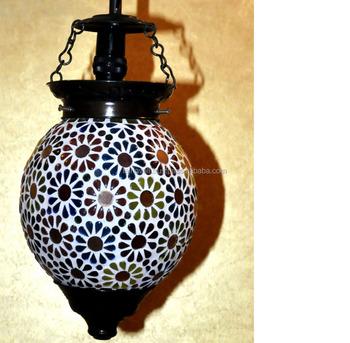 Ethnic Indian Lighting Gl Vintage Decor Ceiling Lamp Designer Pendant Hanging Hot Famous Designers Modern