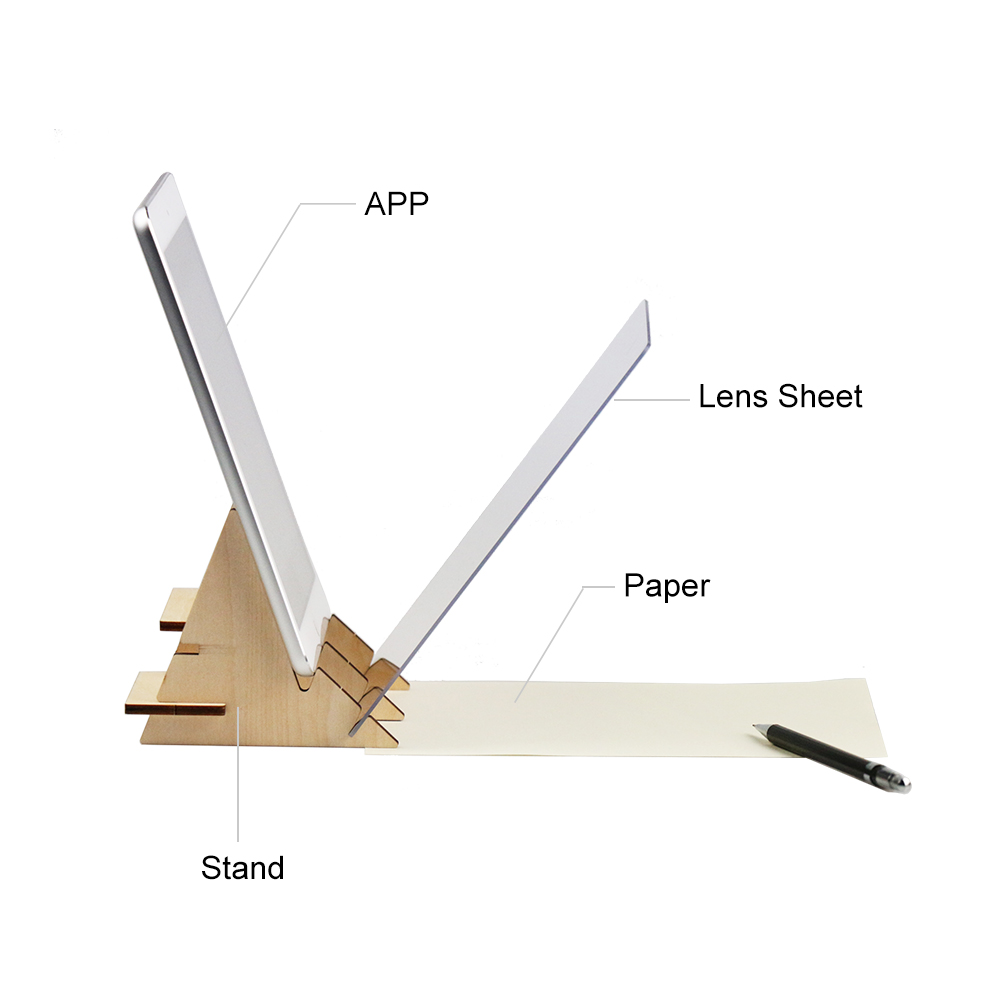 Indraw Sketch Drawing Board Tracing Light Pad With App Artifact For  Beginners Students Kids Sketching Drawing Animation Os0781 , Buy Indraw  Sketch
