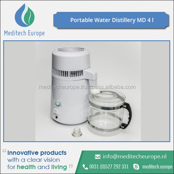 High Quality Safe to Use MD4 Portable Water Distiller at Reasonable Price