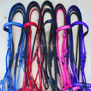 PVC Bridle Black, fashion pvc plastic horse bridles ,High Tensile PVC Racing Horse Bridle