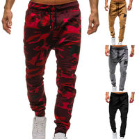 2019 Brand New Style Top Quality Men's Camouflage Camo Pants Harem Joggers Sport Casual Baggy Sweatpants Trousers