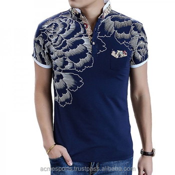Fashion T Shirts New Design 3d Printed Fashion Polo T Shirts With Front Pocket Buy Polo T Shirts Latest Design Full Print T Shirt Animal Printed 3d T Shirt Product On Alibaba Com