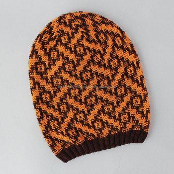 New Style Batik Beanie Knitting Pattern Winter Classic Soft Hat