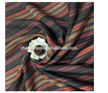 yarn dyed silk cotton plaid fabrics for clothes and dress