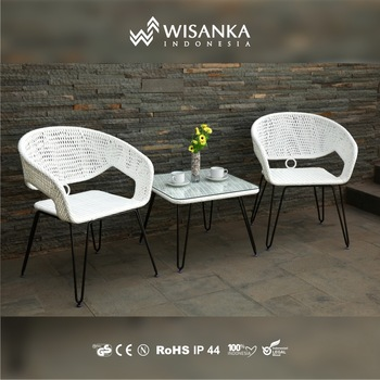 Gourmet Terrace Chair-White Color ; Suitable to put at your Terrace Chair & Gourmet Terrace Chair-white Color ; Suitable To Put At Your Terrace ...
