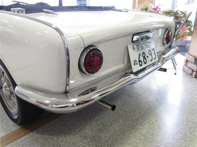 1966 S600 600CC AS285 F4 Classic Cabriolet Used Japan Open Car