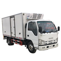 Japanese used refrigerator truck for sale food truck refrigerator freezer