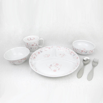 Salasa Pink Tableware Fork And Spoon Gift Set
