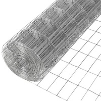 9 gauge galvanized welded iron wire mesh fence netting