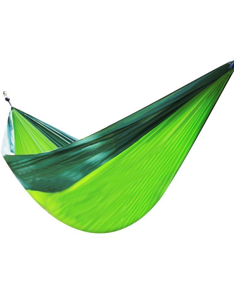 YKMM Outdoor leisure hammock - Ultra-light Parachute Cloth Hammock Outdoor Camping Leisure Hammock, Size Optional --Ultralight convenient hammock