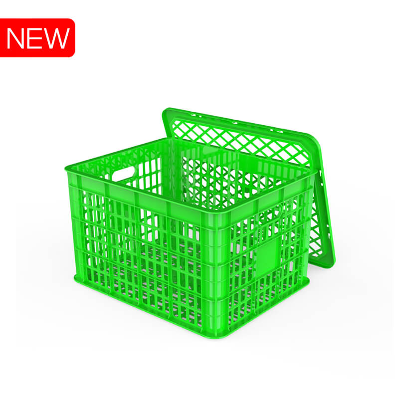 VENTILATED CRATE for fruit with cover  No.1221 Duy Tan Vietnam