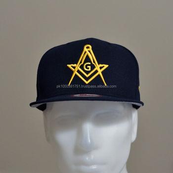 Mason Logo Hat Embroidered | Masonic Embroidered Hat | Embroidered Hat -  Buy Embroidered Santa Hat,Leader Logo Hat,Custom Embroidered Snapback Hats