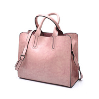 Soft Material Italian Leather Handbags Made In China Woman Bag 2018 PU Ladies Handbags