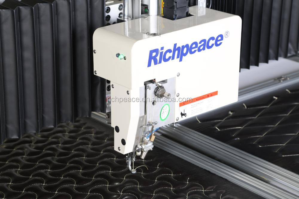 Richpeace Automatic Non-stop work leather Sewing Machine