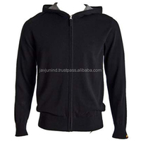 Zip Up Long Sleeve Modern Fleece Sweatshirt Hoodies/Best Quality Tops for Men