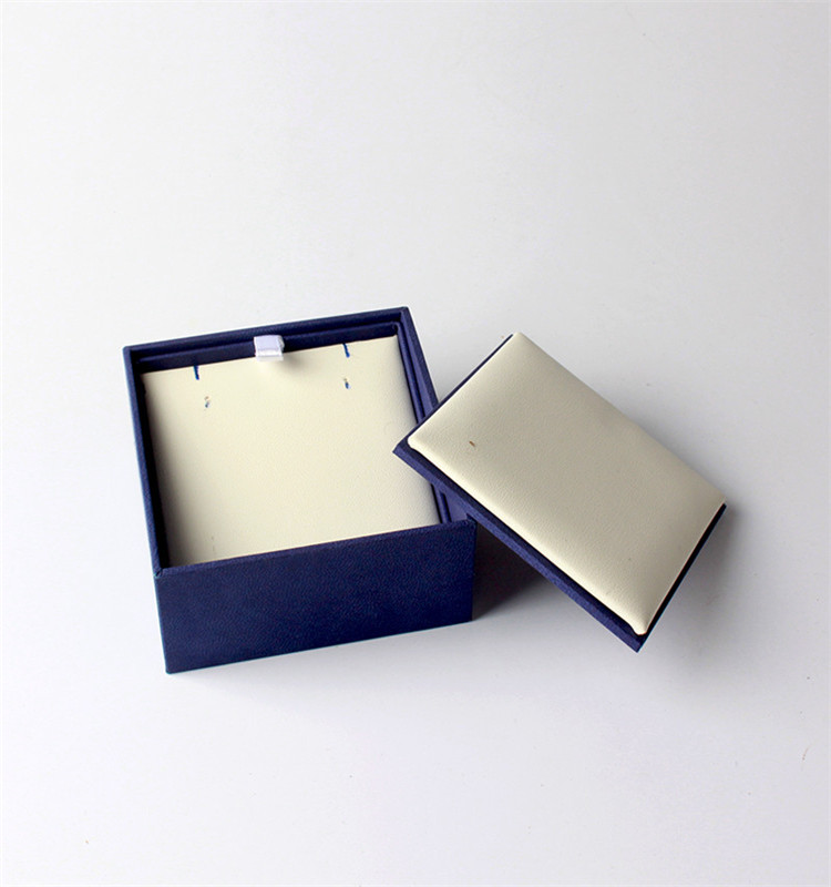Factory OEM Cardboard Packaging Leather Paper Jewellery Box