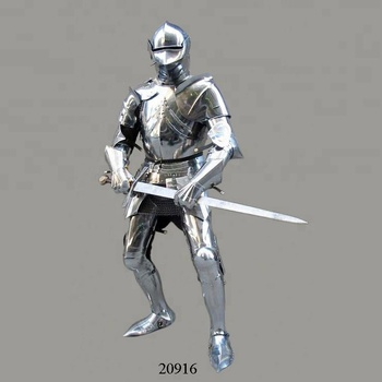 Spanish Knight Armor Suit,Decorative Suits Of Armour,Crusader Knight Suit  Of Armor , Buy Full Body Armour Suit,Full Suit Of Armour,Medieval Suit Of