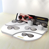 Personalized Customized New Hot Optical Sunglasses Acrylic Contact Lens Display Stand With Mirror Wholesale In China