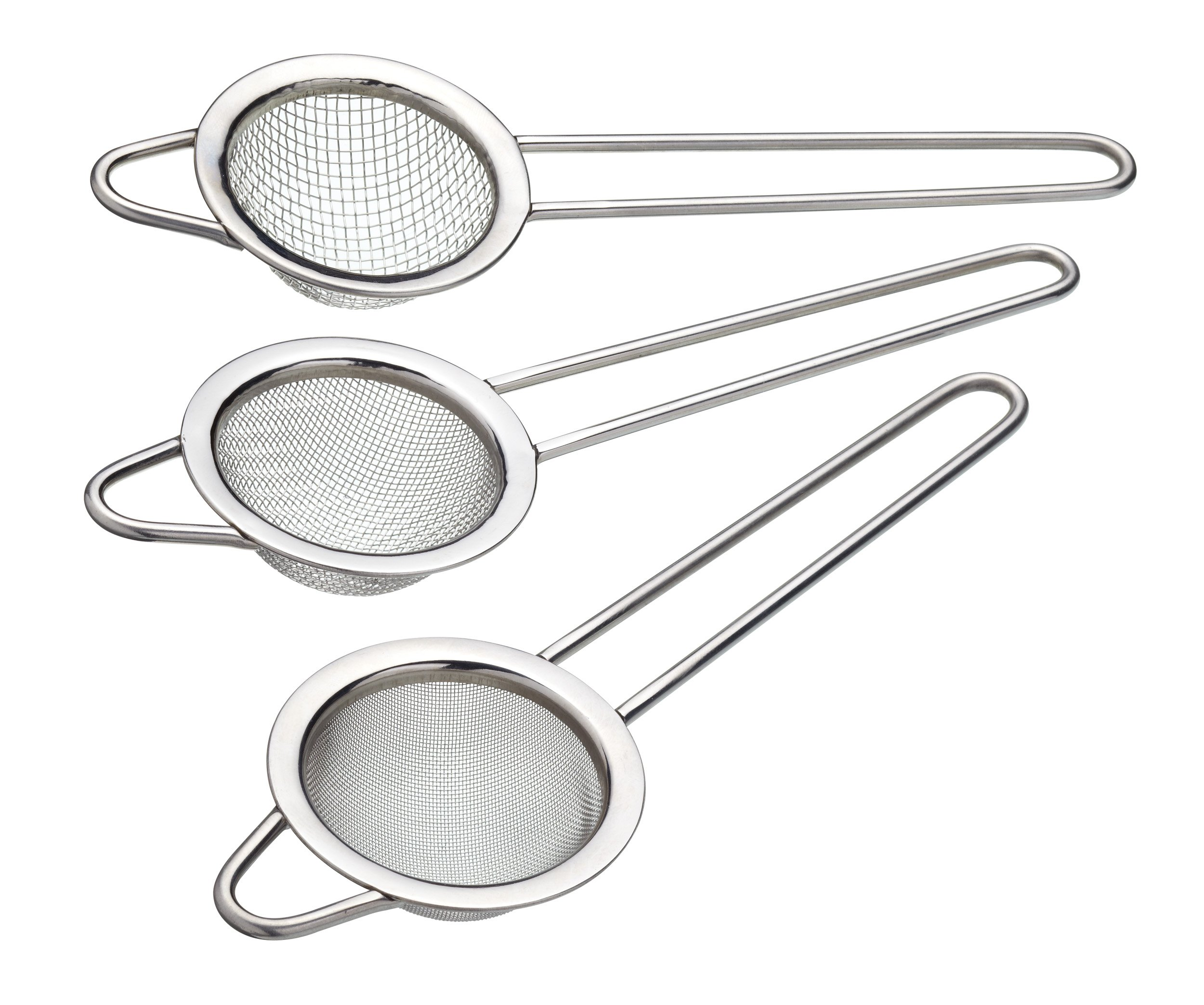 Sweetly Does It Kitchen Craft Sweetly Does It Stainless Steel Assorted Sieve Set