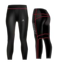 Wholesale High Quality Custom Design Pattern Logo Compression Pants-Move Level