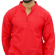 Men's Kurta Indian Cotton Long Sleeve Wooden Button One Pocket Front Side _ 71