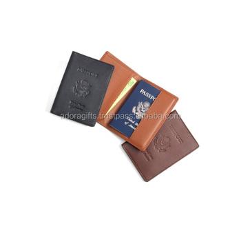 35a877e8365 Handmade Leather Passport Cover