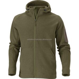 High Neck Fleece Jacket, Polyester Polar Fleece Jacket Supplier