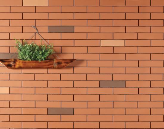 Villa exterior wall tile terracotta tiles building material gomdatviet wall cladding tile for Exterior terracotta floor tiles