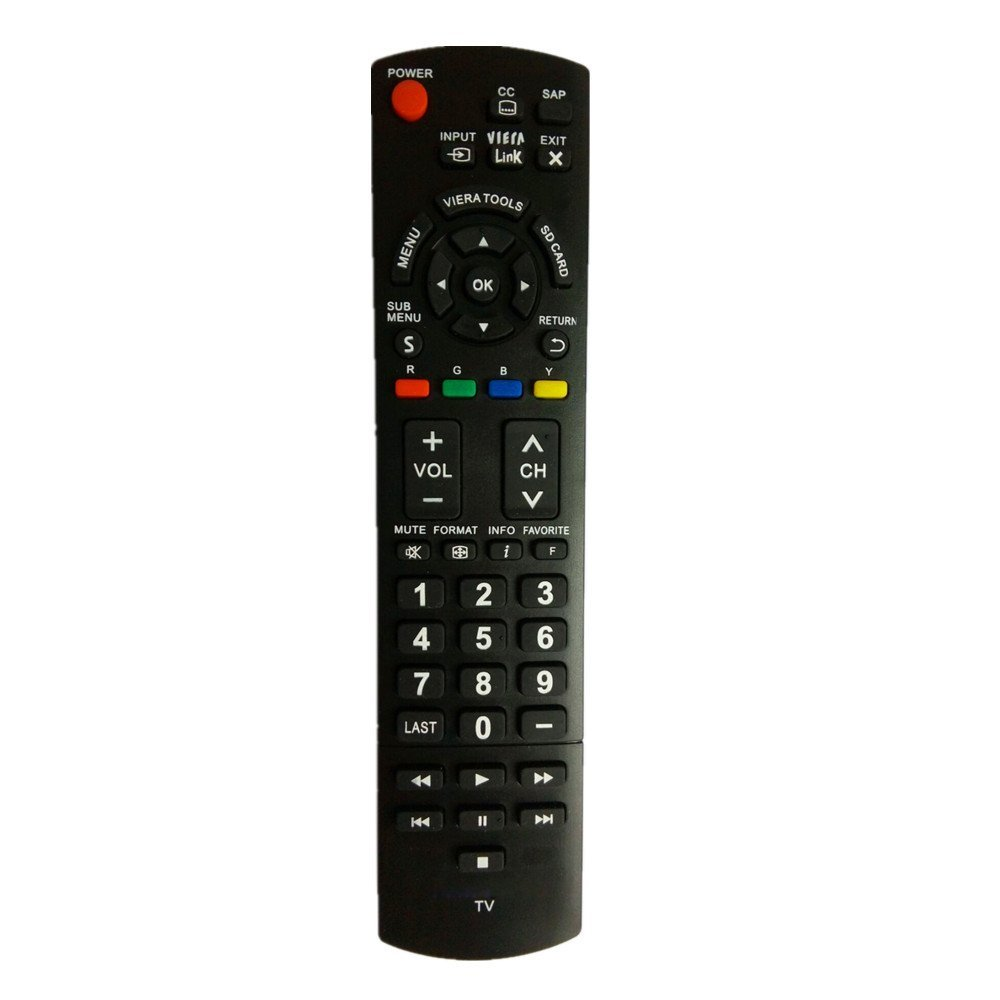 Universal Replacement Remote Control Fit for N2QAYB000570 TC-P50U50 TC-42PS14 TC-50PS14 Viera LCD LED PLASMA HDTV TV