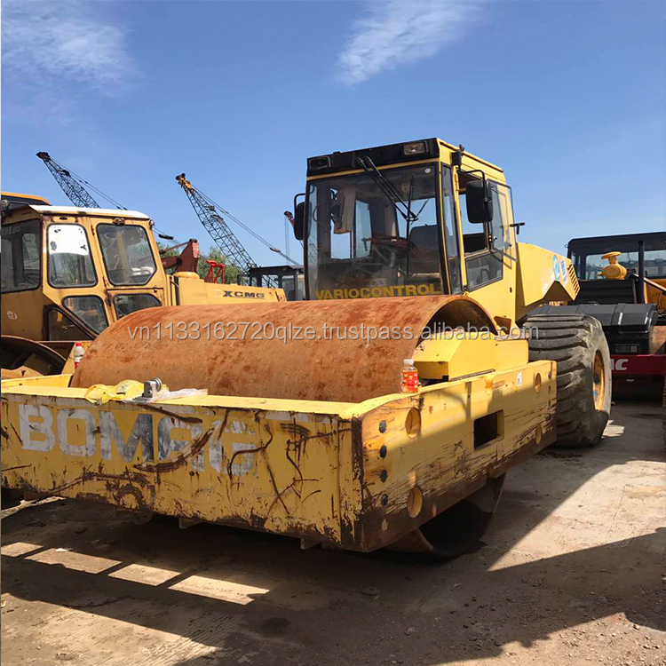 Used BOMAG Compactor Roller BW225D-3, Second Hand Bomag BW225D-3 Road Roller for Sale