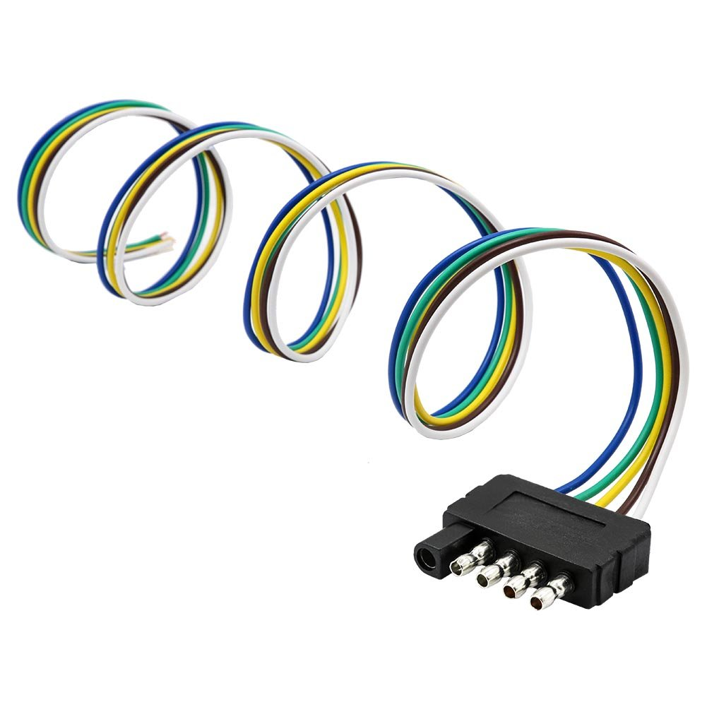 Cheap Wiring Harness For Trailer Hitch Find Light Get Quotations Encell Extension 5 Pin Plug Wire Connector