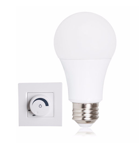 A19/60 led bulb 7w lighting aluminum+plastic housing New product China supplier E27E26B22 Dimmable Led Bulb Lamp