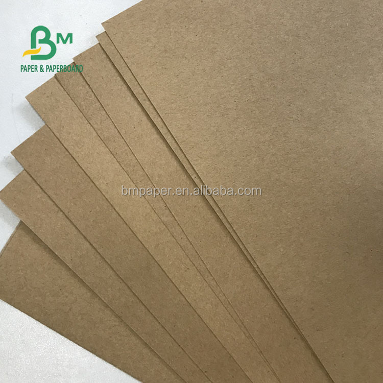 Custom Size 70G 140G 160G 300G Wrapping Paper / Test Liner Kraft Paper Board