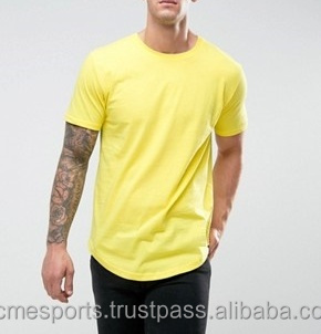 longated t shirts - ELONGATED T SHIRT EXTENDED BOTTOM SCOOP SIDE ZIPPER 79060f479d8