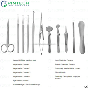 Chalazion Eye Surgery Set Ophthalmic Surgical Instruments Wholesale
